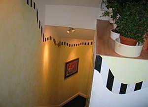 petra schumacher treppenhaus wandgestaltung. Black Bedroom Furniture Sets. Home Design Ideas